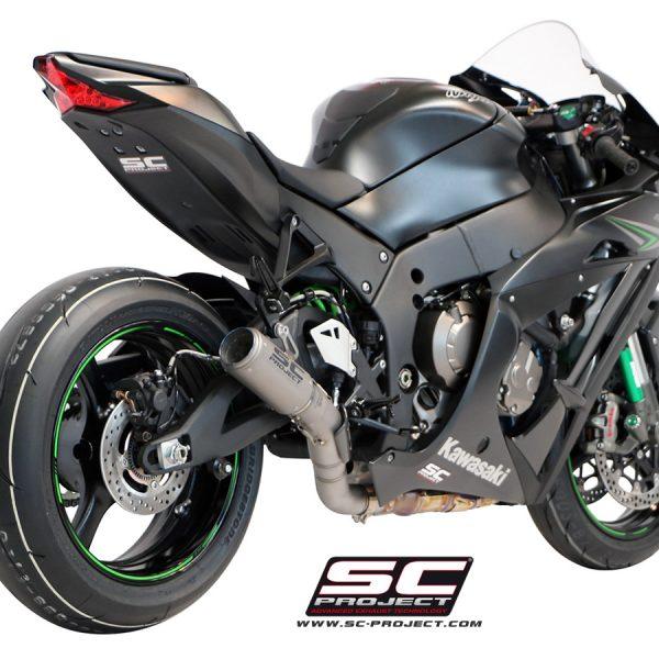 SCARICO KAWASAKI NINJA ZX10R SILENZIATORE RACING MOTOGP 2016 MUFFLER SCPROJECT CRT EXHAUST SILENCER