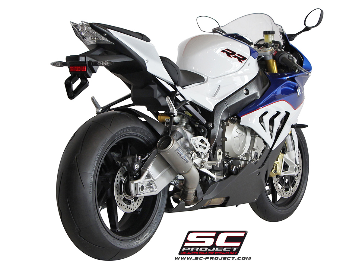BMW S1000RR 2016 CRT Slip On RS SuperBike Thailand