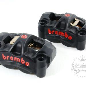 brembo m50 caliper 100mm black color custom brake italy
