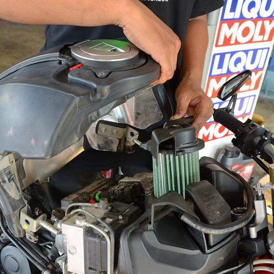 กรองอากาศ Green Filter Ducati Monster