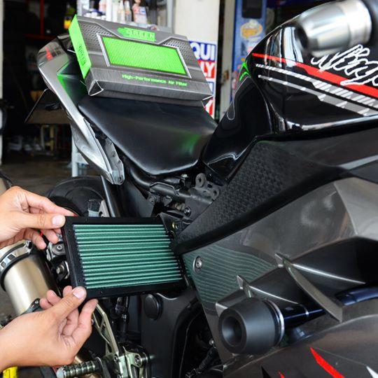 กรองอากาศ Green Filter Ninja300