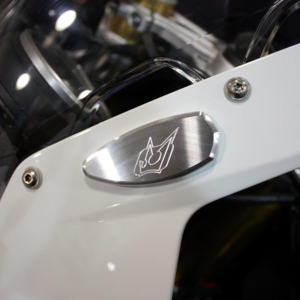 mirror block off driven racing bmw s1000rr