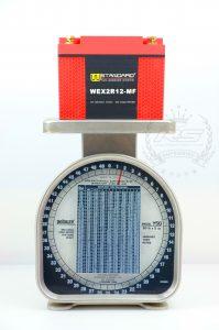 w-standard weight แบตเตอรี่ lithium น้ำหนักเบา